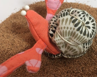 Hermit Crab pincushion