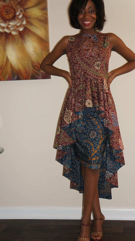 a40b3b69e Ankara Peplum Blouse And Skirt