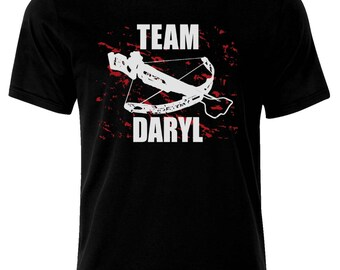 Inspired By The Walking Dead Team Daryl T-Shirt