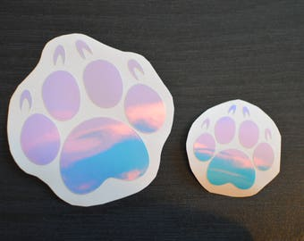 Vinyl Paw Sticker
