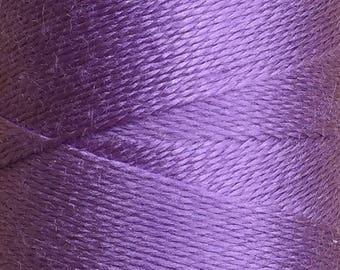 Lilac, Silk Machine Threads, 100% Mulberry Silk, Plain Dyed, Luxury Silk Threads, Spun Silk, Solid Colours, 300m, 325yds