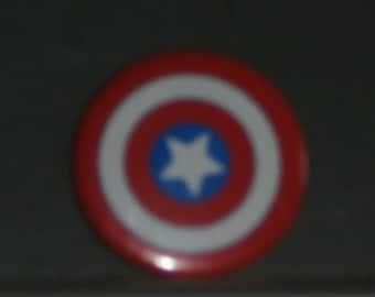 Vintage Captain America Button