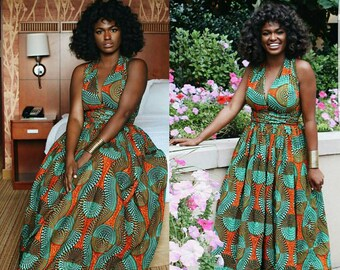 African Print Dress/African Clothing/Women's Clothing/African Fashion/African Dress/Ankara Dress/Kitenge