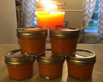 Home Made Pumpkin Pie Candle