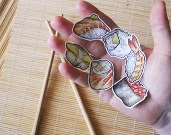 Sushi set - vinyl decals - version 1