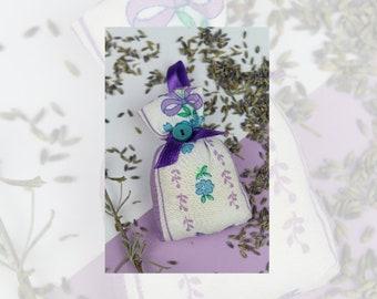 Lavender Sachets, Wardrobe fresheners, Lavender bags, Lavender pillow, Dried Lavender Bag