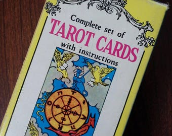 Complete Set Of Tarot Cards -Old BUT NEW :)