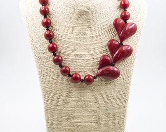 Necklace 3 Hearts