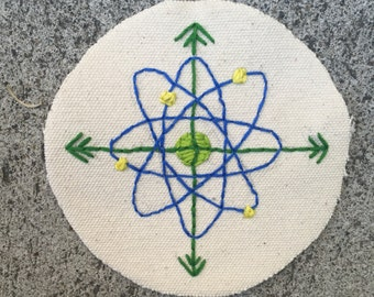 Atomic Compass Patch