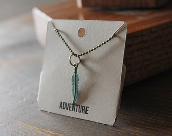 Adventure Ball Chain Charm Necklace