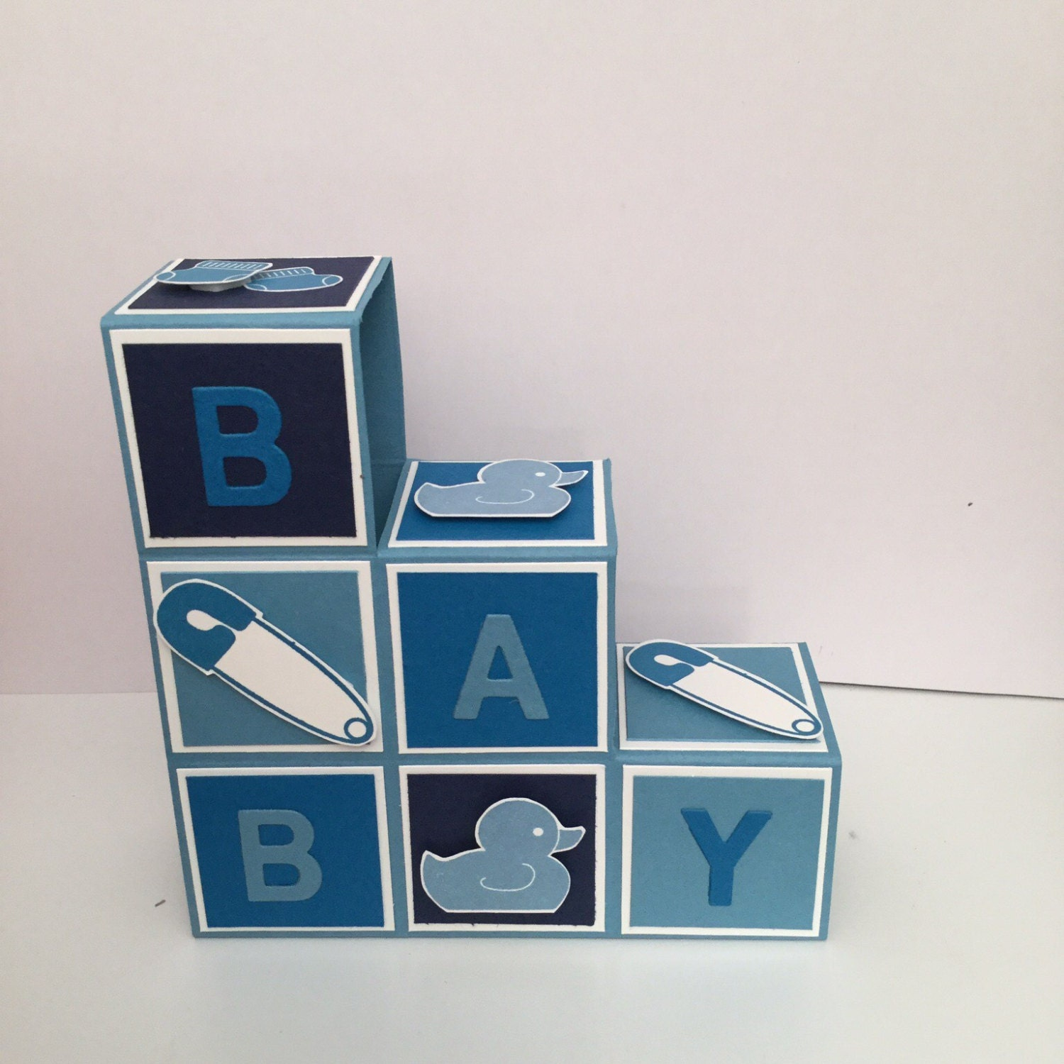 baby building blocks pop up card. Black Bedroom Furniture Sets. Home Design Ideas