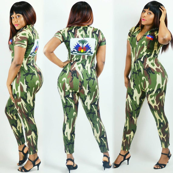 Army Fatigue Jumpsuit Haiti Army Suit Other *Countries Can be Produced