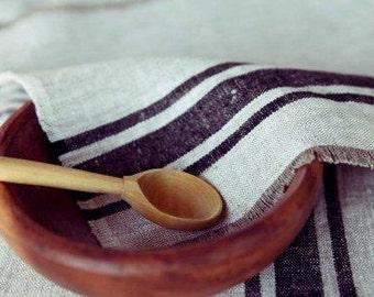 Natural Linen Napkin Set of 4/6/8 - Handmade linen napkins - Custom color