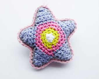 Crochet Star Pattern - Instant Download