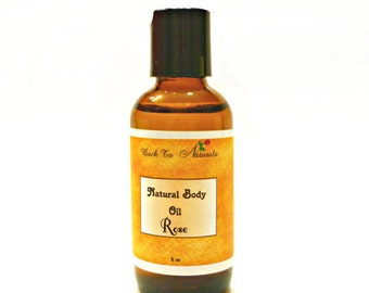 Natural Body Oil - Lavender Rose Body Oil - Aromatherapy Body oil - Bath and Massage Oil