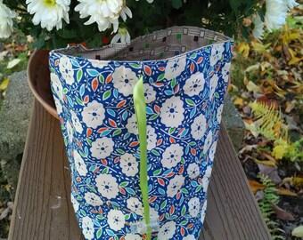 1930's floral bag