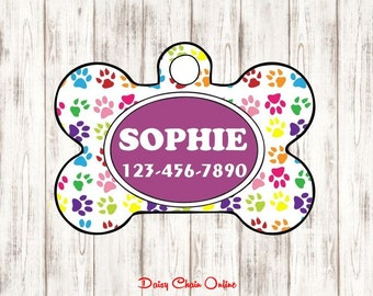 Dog Tag for Dogs - Dog ID Tag - Pet Tags - Dog Tag - Dog Mom Gift - Pet ID Tag - Pet Gift - Dog Tag ID - Custom Dog Tag Custom Pet Tag Gift