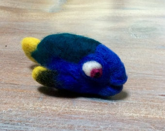 Hand felted dory