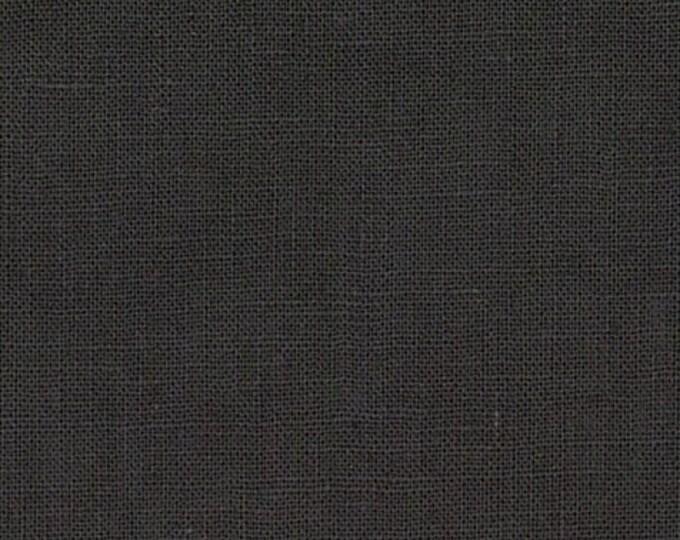 Hanky Linen - Charcoal - 56 inch x 1/2yd