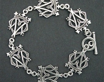 Bold Scottish Luckenbooth Bracelet (#JPEW6068)