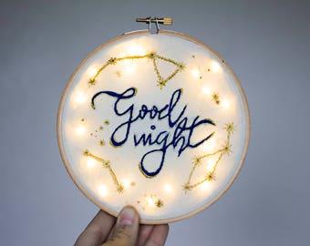 """Night light """"Good night"""""""