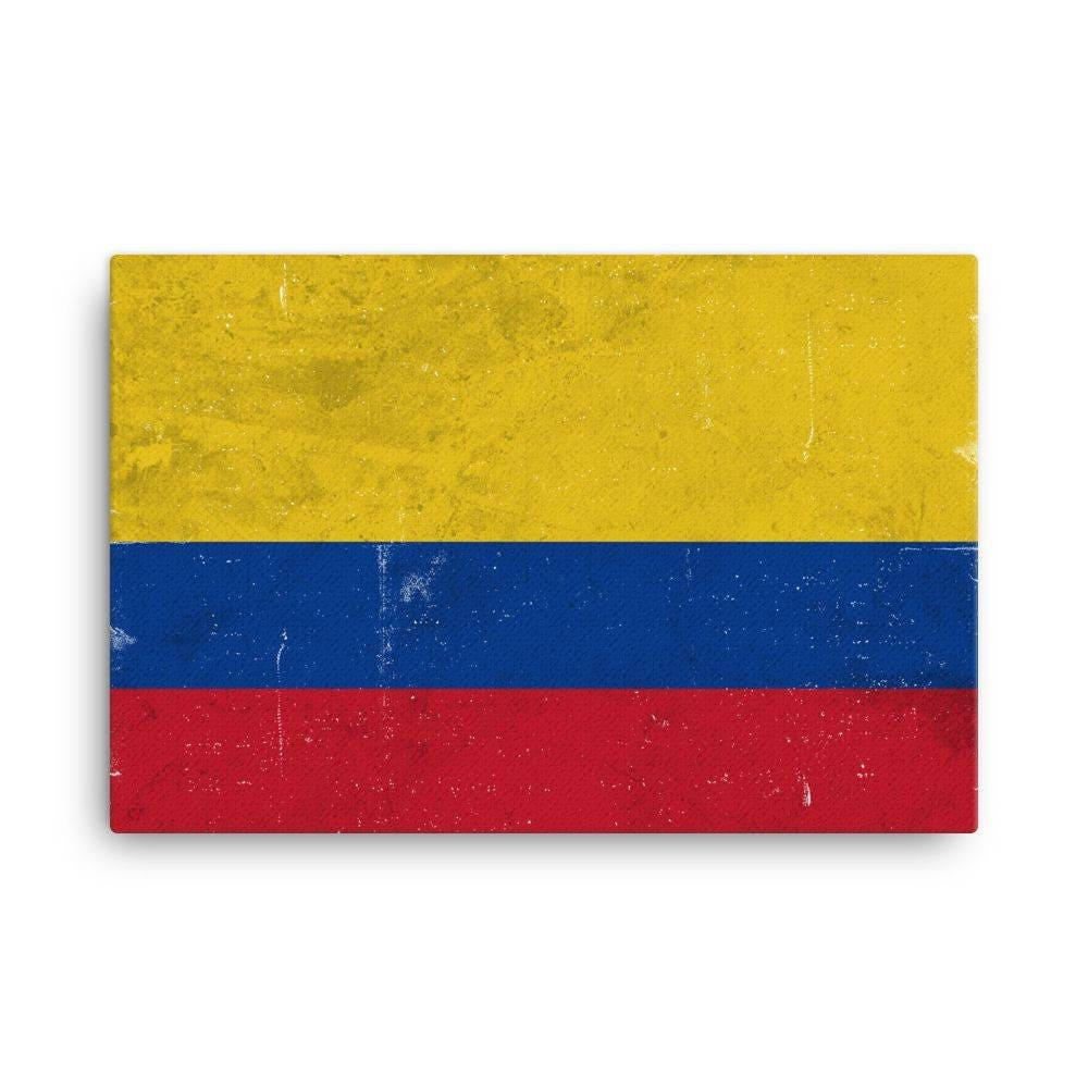 Colombia Flag Colombia Flag Art Colombian Flag Colombia