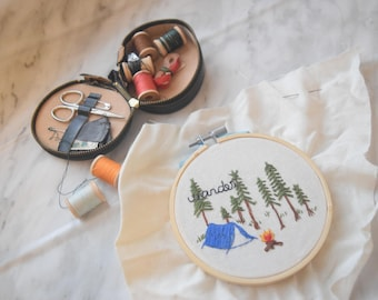"""Wander - Embroidery 4""""/6"""""""