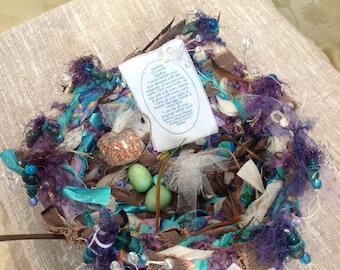 "Treasure Nest (Large) ""Rest Here"""