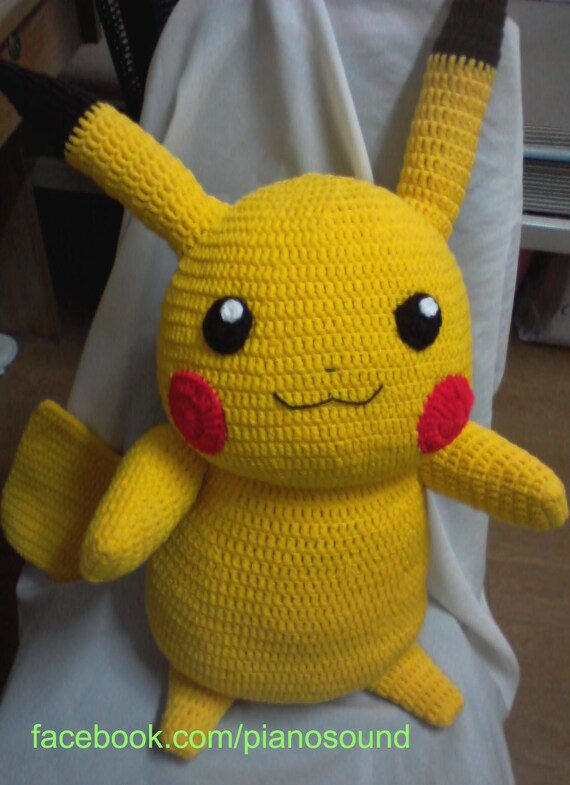 Pikachu Pikachuu Amigurumi Pokemon Pattern
