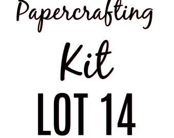 Papercrafting Kit Lot 14