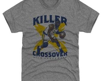 Tim Hardaway Shirt | Golden State Throwbacks | Men's Premium T-Shirt | Tim Hardaway Crossover B