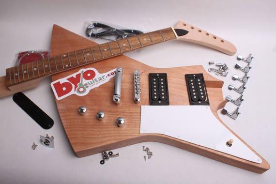 build your own electric guitar kit explorer. Black Bedroom Furniture Sets. Home Design Ideas