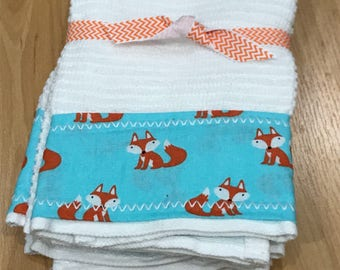 Fox Hand Towels