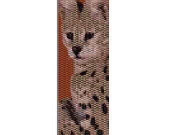 Peyote Bracelet Pattern Serval Cat