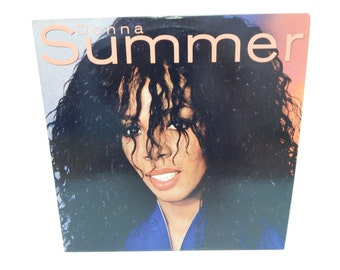 Donna Summer Self Titled Vinyl Record LP