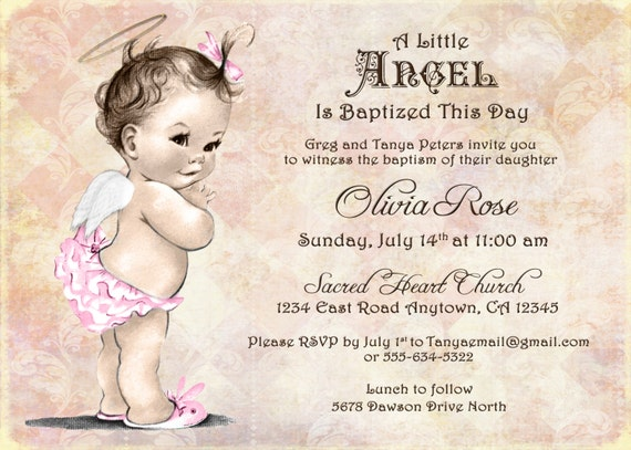 Baby angel cupcake toppers baptism invitation for girl baby angel cupcake toppers baptism invitation for girl christening invitation for girl vintage angel diy printable solutioingenieria Image collections