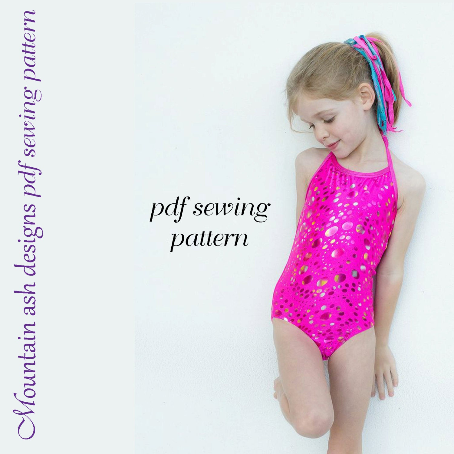 Alexis leotards and swimsuits sewing pattern girls sizes 1 14 zoom jeuxipadfo Gallery