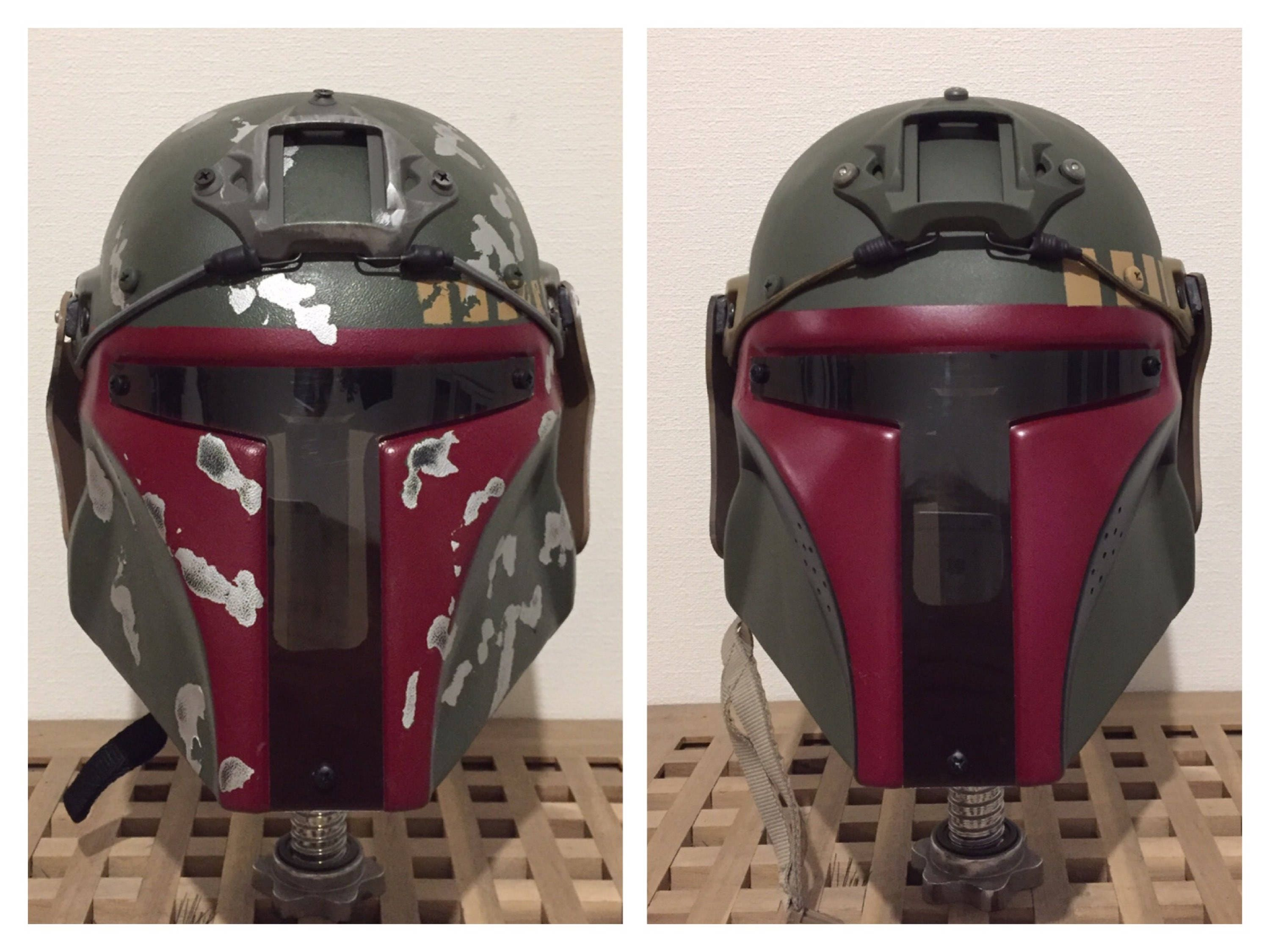 Boba Fett Airsoft/Paintball Helm