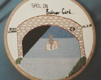 Custom Made Embroidery Hoop