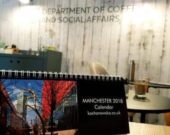 The Manchester Calendar with unique photographs