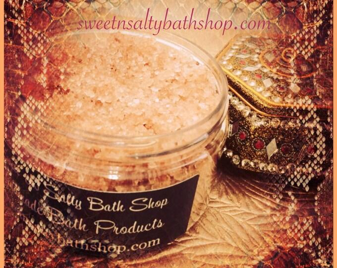 Egyptian Sandalwood Scented Sea Salt Hand and Body Scrub