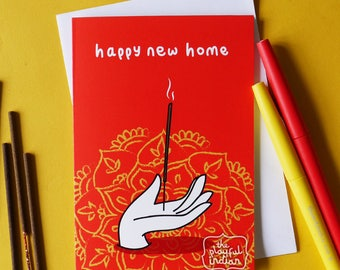 Happy New Home Greeting Card