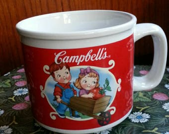 Campbell's Soup Coffee hot Cocoa Mug Cup