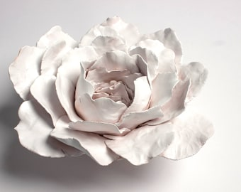 Ceramic Flower Etsy