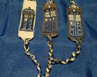 Doctor Who Tardis Friendship Bracelet