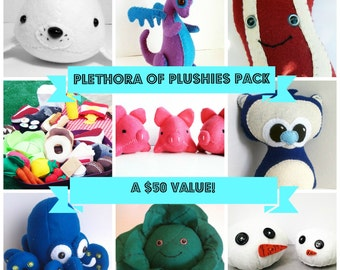 Plethora of Plushies Pack - A stuffed animal blind-bag