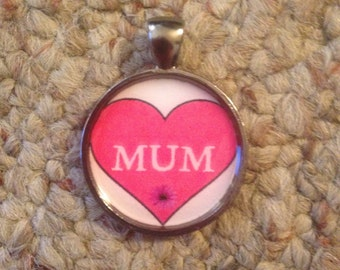 Mum Image Pendant Necklace-FREE SHIPPING-
