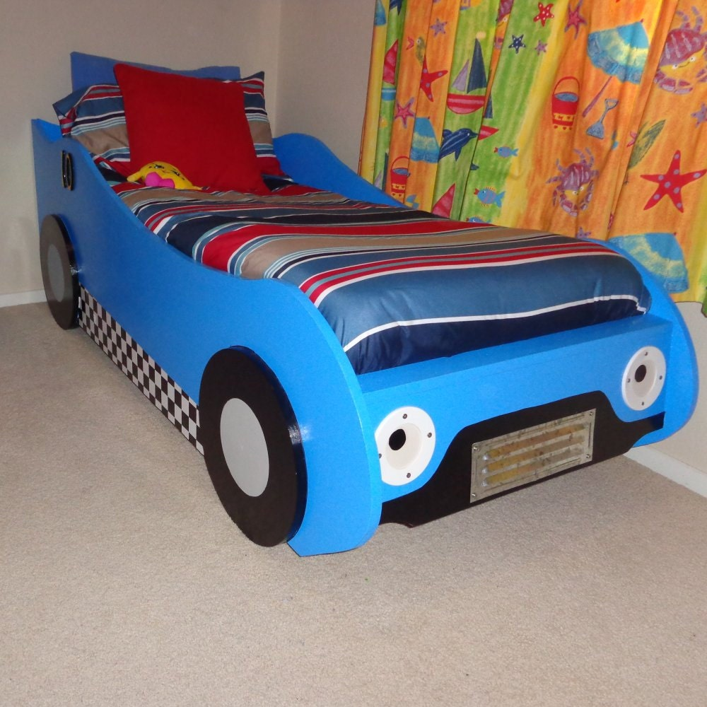 car beds for kids diy racing car bed woodworking plans 10508