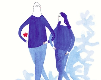 Have lan shi is a (love is blue No.1)