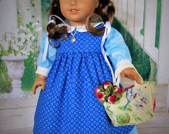 Country Dress and Pinafore for American Girl Doll
